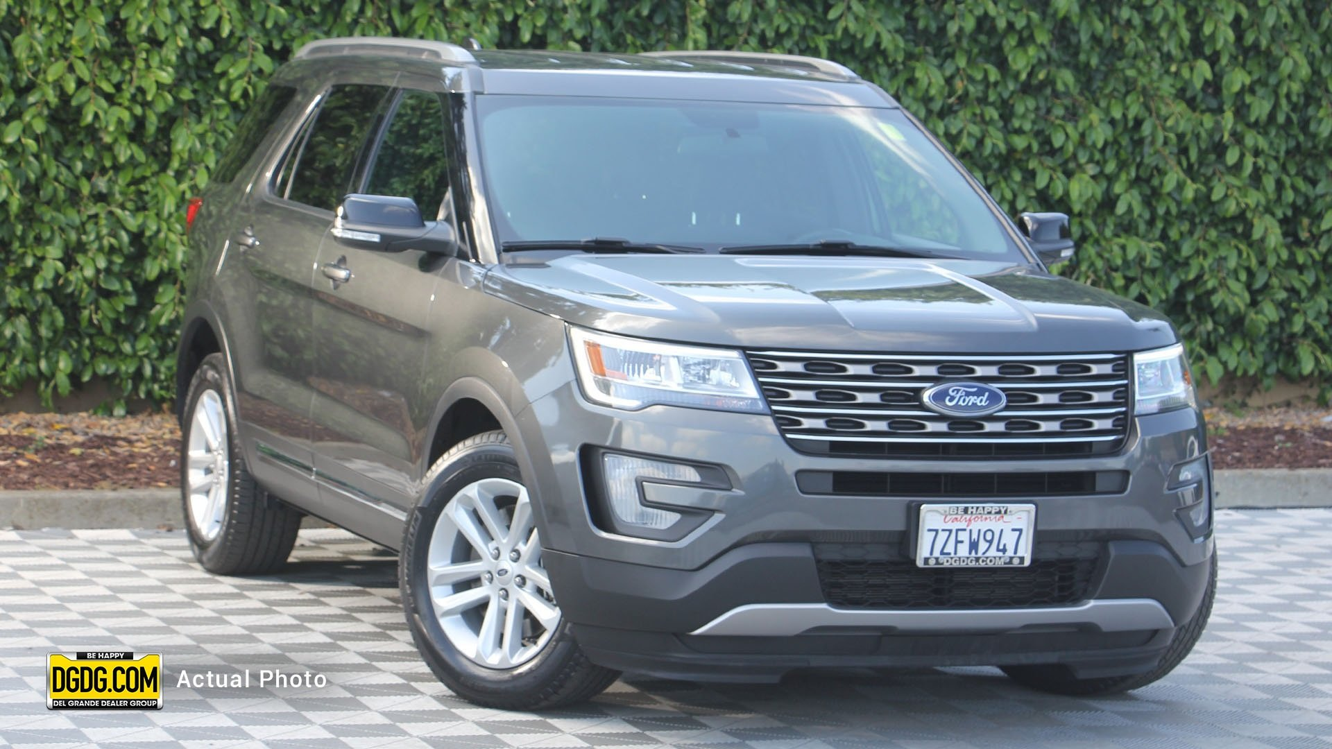 Certified Pre Owned 2017 Ford Explorer Xlt