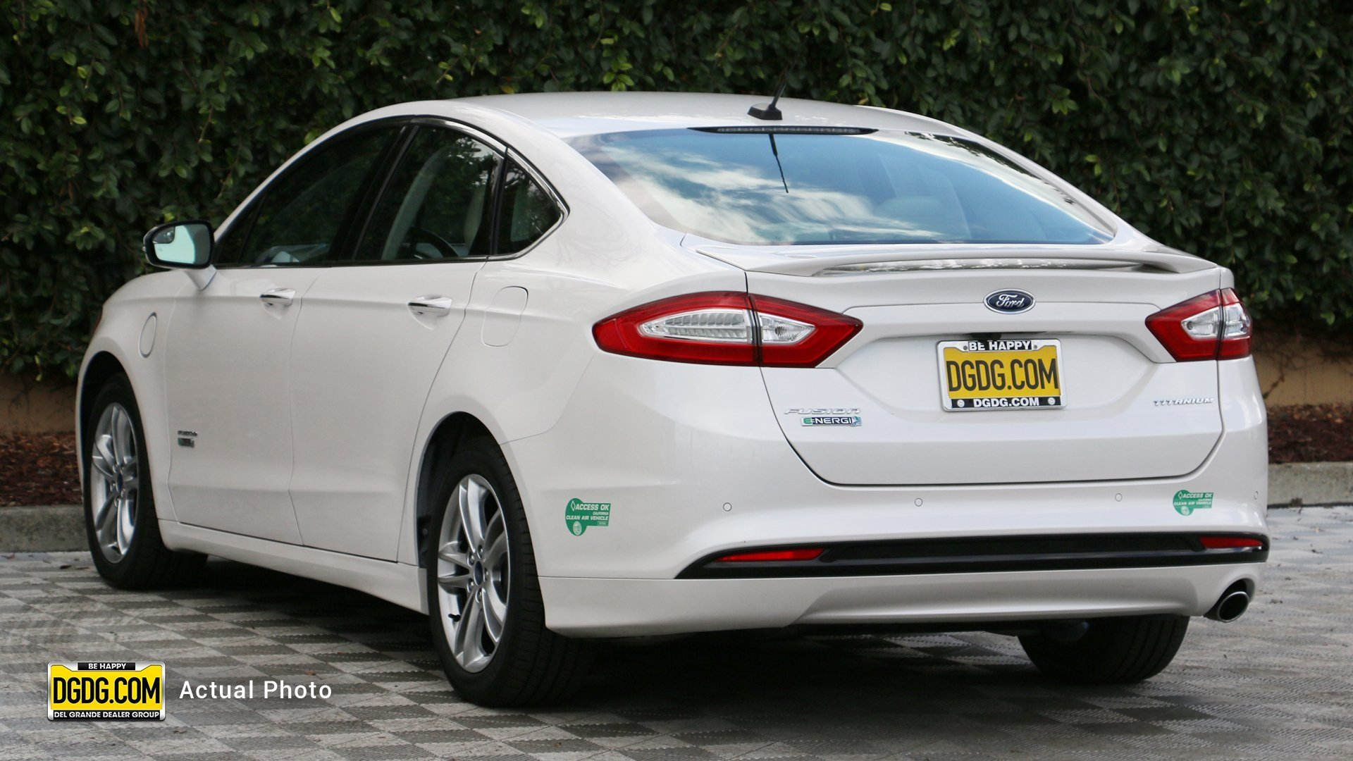 Certified Pre-Owned 2015 Ford Fusion Energi Titanium