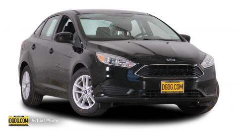 2018 Ford Focus SE FWD 4D Sedan