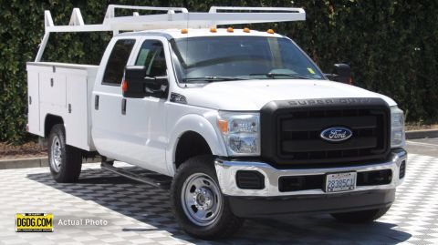 Pre-Owned 2011 Ford Super Duty F-350 SRW XL
