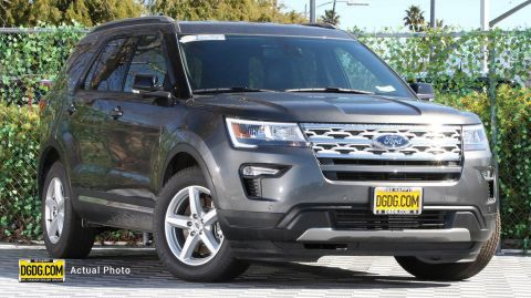 2018 Ford Explorer XLT With Navigation