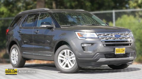2018 Ford Explorer XLT With Navigation & AWD