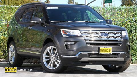 2019 Ford Explorer Limited With Navigation & AWD