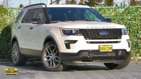 2019 Ford Explorer Sport With Navigation & AWD