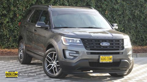 2016 Ford Explorer Sport With Navigation & 4WD