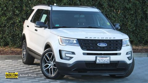 2017 Ford Explorer Sport With Navigation & 4WD