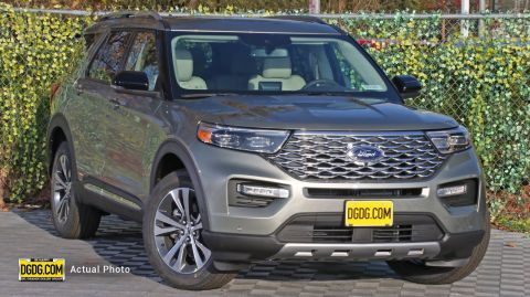 2020 Ford Explorer Platinum With Navigation & AWD