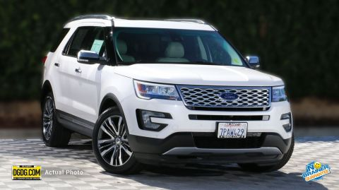 Certified Pre-Owned 2016 Ford Explorer Platinum