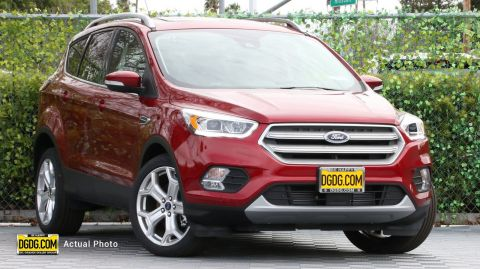 2019 Ford Escape Titanium With Navigation