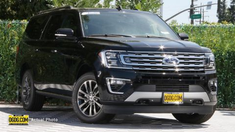 2019 Ford Expedition Max Limited With Navigation & 4WD
