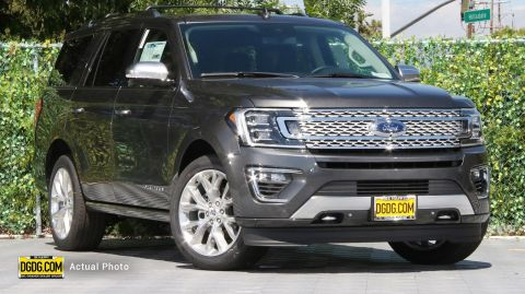 2019 Ford Expedition Platinum With Navigation & 4WD