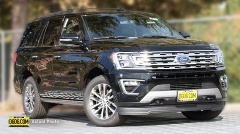 2018 Ford Expedition Limited With Navigation & 4WD