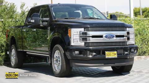 2018 Ford F-250SD Limited With Navigation & 4WD