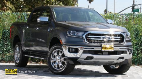 2019 Ford Ranger Lariat With Navigation & 4WD