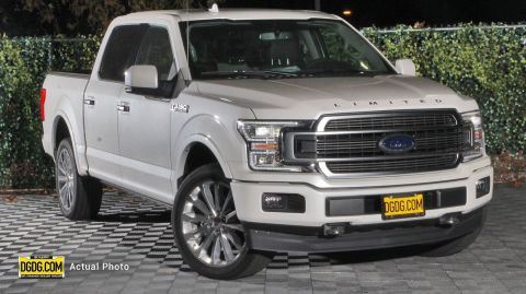 2019 Ford F-150 Limited With Navigation & 4WD