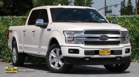 2019 Ford F-150 Platinum With Navigation & 4WD