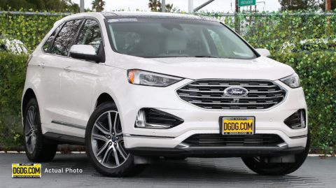 2019 Ford Edge Titanium With Navigation