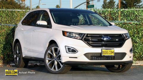 2018 Ford Edge Sport With Navigation & AWD