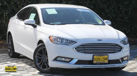 2018 Ford Fusion S FWD 4dr Car