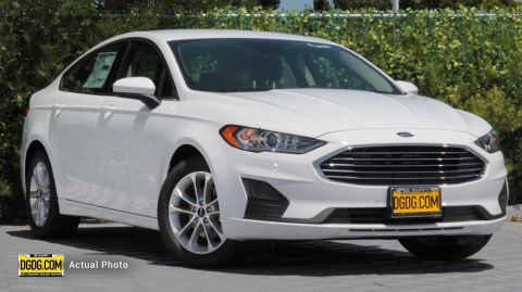 2019 Ford Fusion SE With Navigation