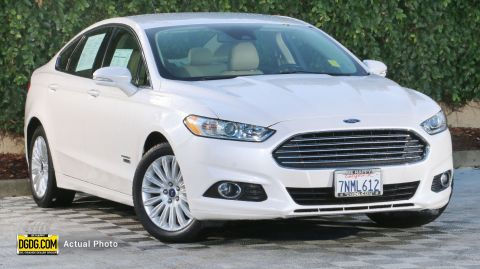 Certified Pre-Owned 2015 Ford Fusion Energi SE Luxury
