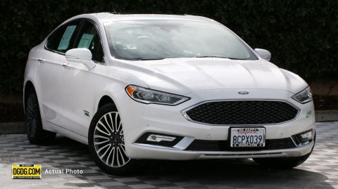 Certified Pre-Owned 2018 Ford Fusion Energi Platinum