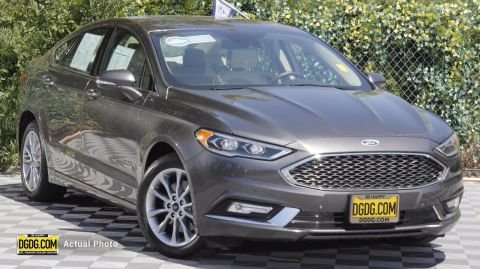 Certified Pre-Owned 2017 Ford Fusion Energi Platinum