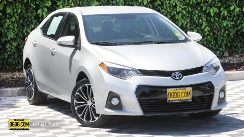 2016 Toyota Corolla S FWD 4dr Car