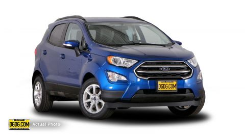 2018 Ford EcoSport SE With Navigation