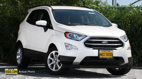 2019 Ford EcoSport SE With Navigation