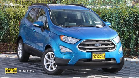 2020 Ford EcoSport SE With Navigation
