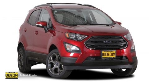 2018 Ford EcoSport SES With Navigation & 4WD