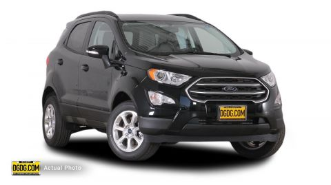 2018 Ford EcoSport SE With Navigation & 4WD